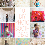10 DIY Photo Booth Ideas – a roundup