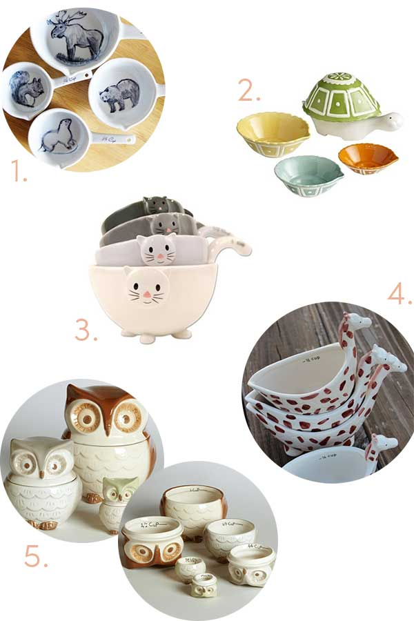 Cute Measuring Cups