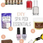 DIY Spa Pedicure Essentials