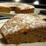 forcing the season: pumpkin chiffon cake
