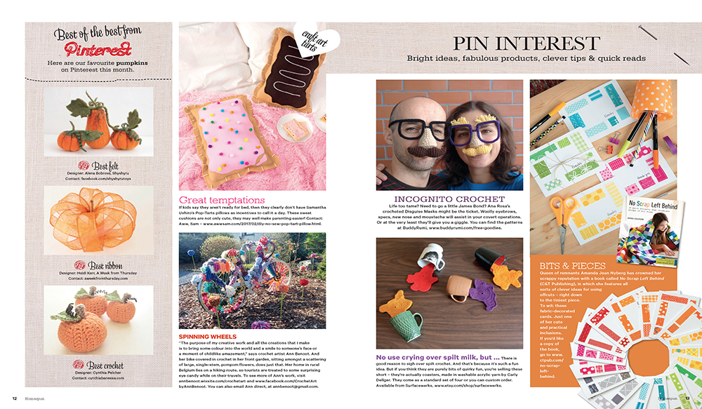 Homespun Magazine Feature