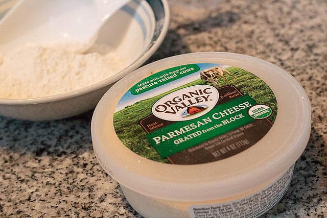 Baked Parmesan Edamame
