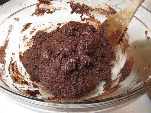 chocolate dough ball goodness