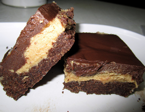 chocolate pb bars