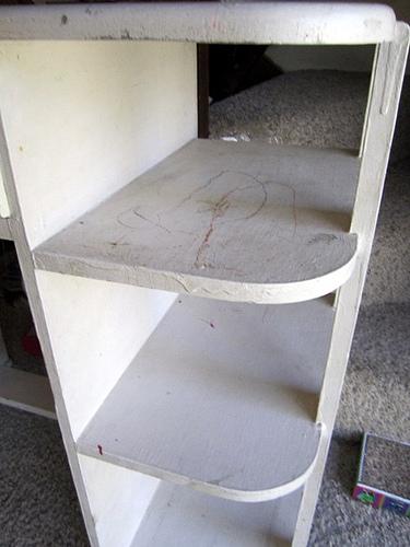 desk pre paintjob