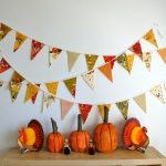 fall bunting banners