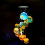 Benoit Vieubled's globe chandelier