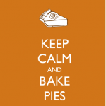 advice: bake pies