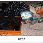 throw out fifty things: day 2 – The Living Room