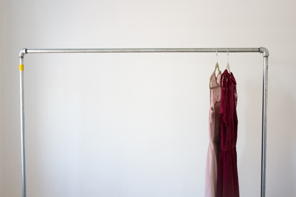 Diy Garment Rack Tutorial A Week From Thursday