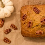 guest blogging: pumpkin pecan bread