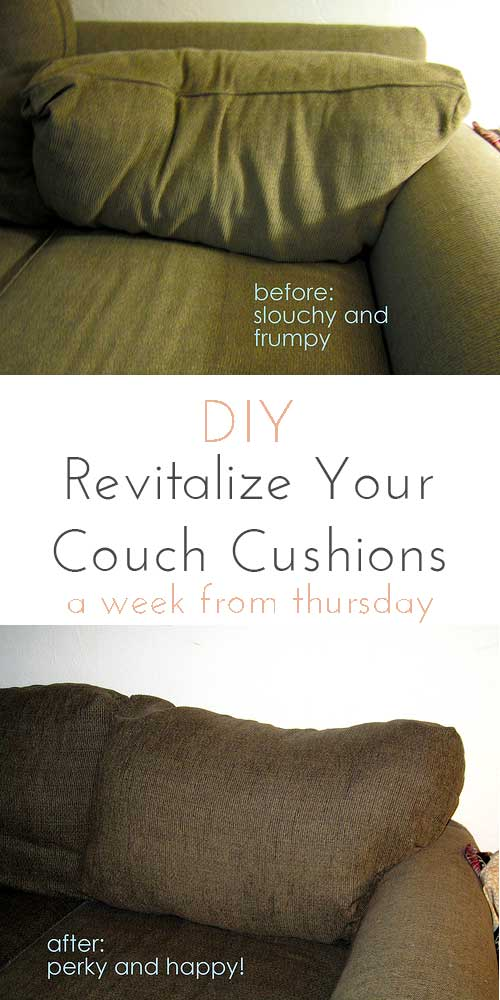 How To Re Stuff Couch Cushions