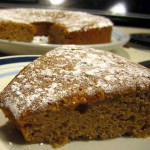 forcing the season: pumpkin chiffon cake