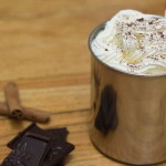 guest blogging: white hot chocolate with homemade whipped cream